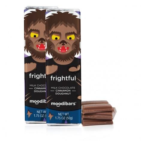 1.75oz Moodibar - Frightful Milk Chocolate Cinnamon Doughnut