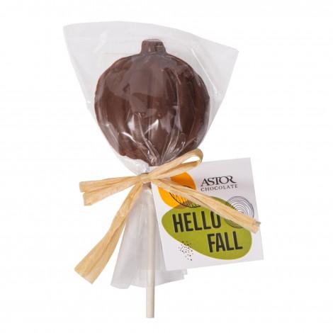 Chocolate Pumpkin Lollipop