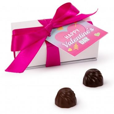 Valentines 2pc Truffle Box