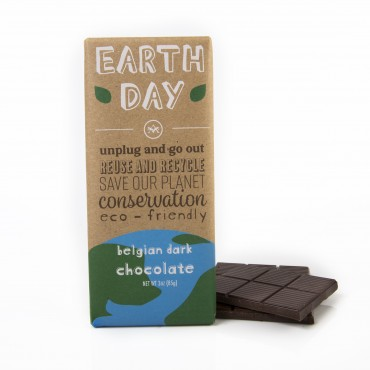 Earth Day - Belgian Chocolate Bar