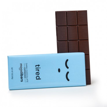 TIRED - Espresso Dark Chocolate (3oz)