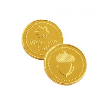 Fall Chocolate Coins