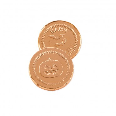 Happy Halloween Chocolate Coins