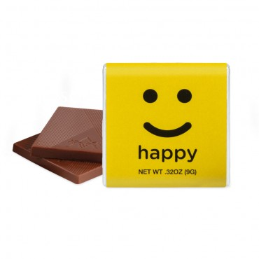 "HAPPY - Milk Chocolate (1.75"")"