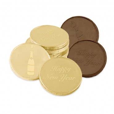 NYE Milk Chocolate Coins
