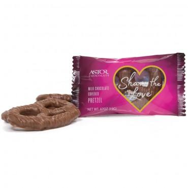 Valentines Chocolate Pretzel