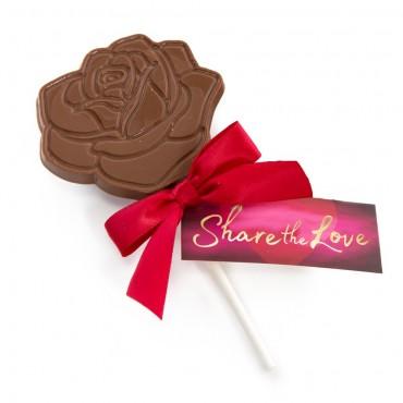 Valentines Rose Lollipop