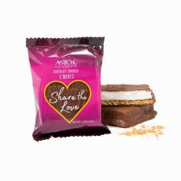 Valentines Chocolate Smores