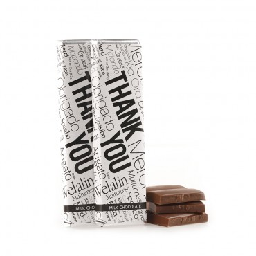 """Thank You"" Chocolate Bars"