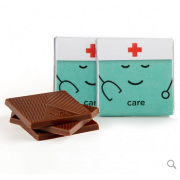 "Moodibar - CARE Deluxe Chocolate Squares (1.75"")"