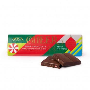 Holiday Peppermint Dark Chocolate Bars 1.75oz