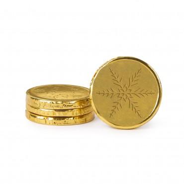 Belgian Milk Chocolate Holiday Coins