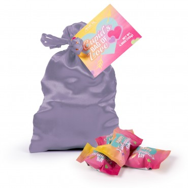 Valentines Cupid's Satin Truffle Bag