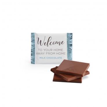 Welcome Deluxe Milk Chocolate Flow Packed Squares