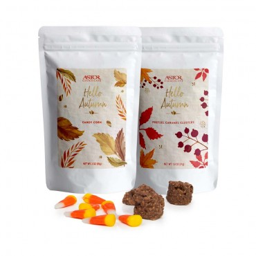 Fall Resealable Snack Bags