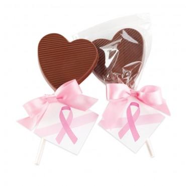 BCA Chocolate Heart Lollipop