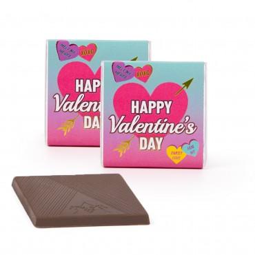 Valentine's Day Deluxe Chocolate Thins JUNIOR CASE