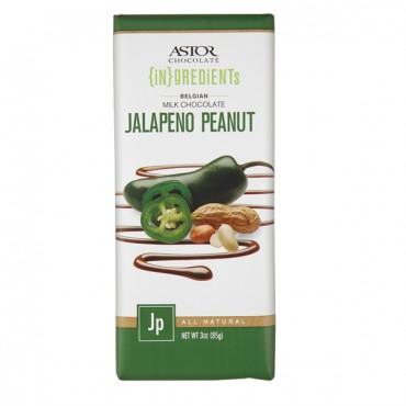 Jalapeno Peanut Milk Chocolate (3oz)