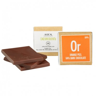 Orange Peel Dark Chocolate (64%)