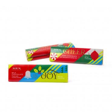 Assorted Holiday Chocolate Bars (1.75oz)
