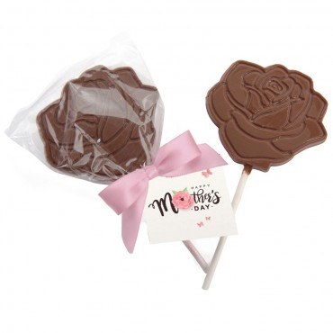 Mother's Day - Rose Shaped Lollipop