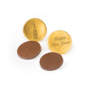 NYE Milk Chocolate Coins
