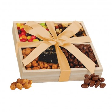 NYE Wooden Snack Crate