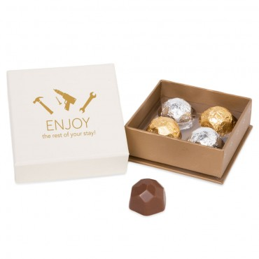 Engineering 4pc Deco Truffle Box