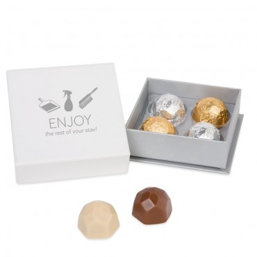 Housekeeping 4pc Deco Truffle Box