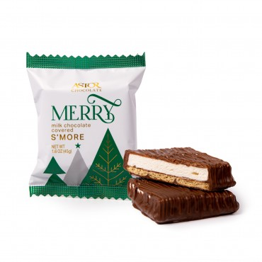 Holiday Milk Chocolate S'more