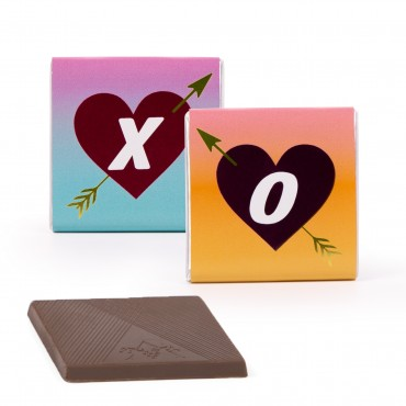 Valentine's Day Deluxe Chocolate Thins Mixed - JUNIOR CASE