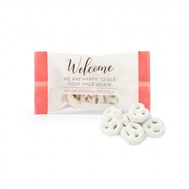 Welcome Yogurt Covered Pretzels Gourmet Snack Bag