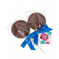 """""""Thank You"""" Chocolate Lollipops"""